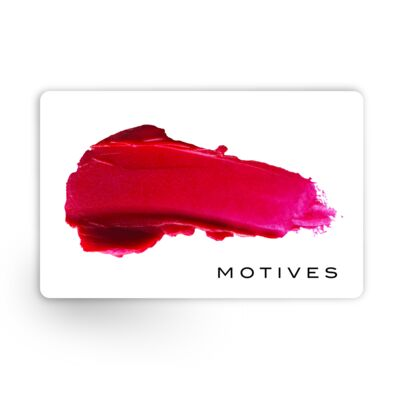 Motives® Gift Card (Email Delivery) - US$100 Gift Card (Egift Cards are non-refundable)